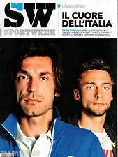 SPORTWEEK=N°21 2012=IL CUORE DELL'ITALIA=PIRLO E MARCHISIO