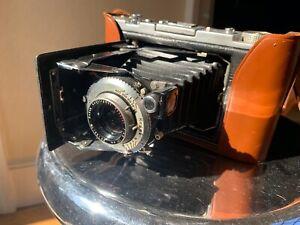 Vintage Kodak Monitor Six-20 Folding Bellows Camera w/ Special f4.5 101mm Lens