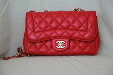 Chanel Pink Quilted Leather Mademoiselle Chic Flap Bag - NIB
