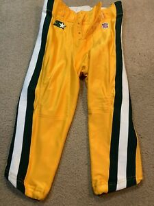 Rare Starter Green Bay Packers Team Issued NFL Football Pants Sz 34 Game 1995