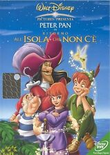 DISNEY DVD Peter Pan Ritorno all'isola .. rarissimo Z3 olo tondo