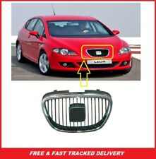 SEAT ALTEA/LEON/TOLEDO Front Grille Black With Chrome Frame 5P0853651A