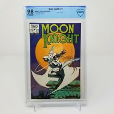 Moon Knight #27 CBCS 9.8 White Pages Frank Miller Cover NOT CGC