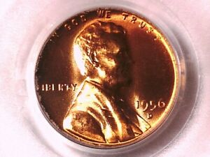 1956 D Lincoln Wheat Cent Penny PCGS MS 66 RD 06911648