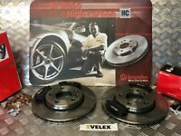 BREMBO VW TRANSPORTER T5 2003 TO 2015 REAR BRAKE DISCS & PADS