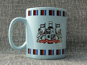 LARGE HP BROWN SAUCE BLUE MUG HOUSES OF PARLIAMENT JUMBO OFFICIAL MERCHANDISE