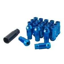 Lug Nuts Stahl Radmuttern Blau M12x1,5 Honda Toyota Mazda Ford Mitsubishi JDM