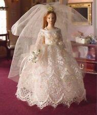 Dolls House Miniature Porcelain Doll  accessory.GRACE bride Streets Ahead`1:12