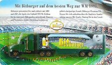 Bitburger -  Biertruck-Nr.2 - Kenworth T800 SZ - KW 70 € - (OVP) WM 1998