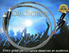 BRAND NEW AUDIENCE AU24 SE 1 METER GOLD RCA TO RCA INTERCONNECTS