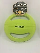 DOG TOY. THROWING DISC. JAWABLES. FLOATING,TOUGH.  ANCOL,