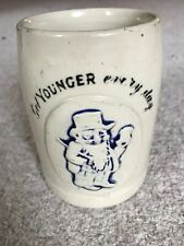 Antique Ceramic Youngers Pint Tankard GR 3 Crown Mark George V? 1910-1930? 301