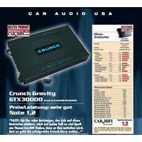 CRUNCH GTX3000D Monverstärker digital GRAVITY GTX-3000 D 3000W Ausstellungsstück