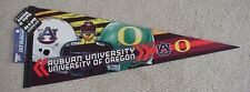 2011 BCS CHAMPIONSHIP THE GAMESITE PENNANT AUBURN TIGERS OREGON DUCKS NEW