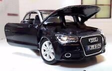 G LGB 1:24 Escala negro VW Audi A1 TDI TSI Burago DETALLADO Modelo 22127