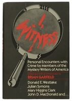 I, WITNESS : Personal Encounters with Crime by Mystery Writers SIGNED