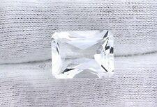 16x12 16mm x 12mm Princess Emerald Cut White Topaz Gem Stone Gemstone EBS2678