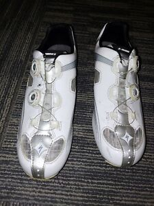 Specialized Women's S-Works Road Cycling Shoes EU 41.5 US 10 White
