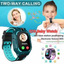 Android анти-потерянный умные часы Gps Tracker Sos вызова GSM SIM-ребенок, подарки для детей