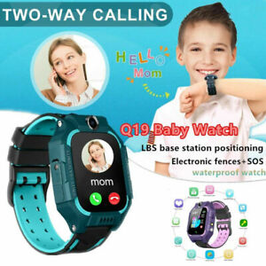 Android Anti-lost Smart Watch GPS Tracker SOS Call GSM SIM Child Gifts For Kids