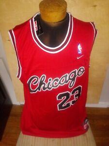 Michael Jordan #23 Chicago Bulls Nike Red 2XL Basketball Jersey Sewn