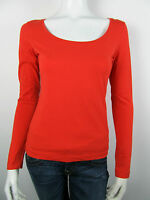 Dept Damen Langarm T-Shirt Top Lila Rot Neu S M