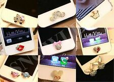 Cute Jewelry Design Home Button Sticker For iPhone4,5th,6,6 Plus,iPad,6s,6s Plus