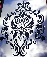high detail airbrush stencil damask three pattern FREE UK POSTAGE