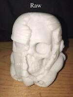 "Star Wars Death StormTrooper Skull Zombie Helmet 4.5"" 3d printed Collectible"