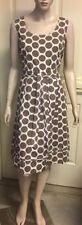 Polka Dot Knee-Length 100% Cotton Dresses for Women