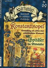 Karfunkel Zeitschr. f erlebbare Geschichte 69/07 KONSTANTINOPEL