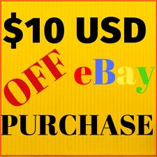 $10 FREE CASH on Ebay - 100% Guaranteed