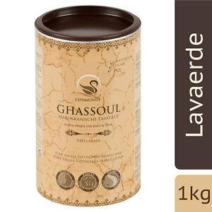 cosmundi Ghassoul Marokkanische Lavaerde - 1 kg mineralisches Tonerde-Pulver