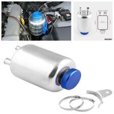 Fuel Power Steering Tank Fluid Reservoir Tank Aluminum Car Racing Breather Tank