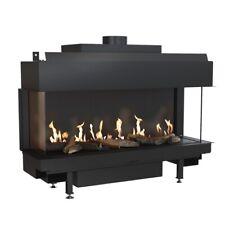 Gas Fire Leo 100 3-seitig