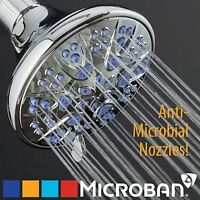 AquaDance® Antimicrobial High Pressure Shower Head with 6-Settings