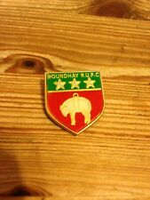 New listing ROUNDHAY  RUGBY UNION   F.C   VINTAGE  1970s   RUGBY UNION  ENAMEL BADGE   VGC