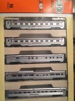 Con-Cor N Scale Five Car Streamline Corrgated Passengar PA. #003-540003