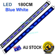 180cm  Aquarien Eco Aquarium Fish Tank Light  LED 10,000k 6FT Blue White Lights