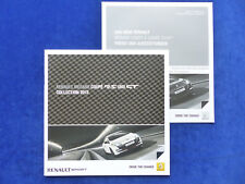 Renault Megane Coupe RS GT 265 PS-Brochure + Price List Brochure 12.2012