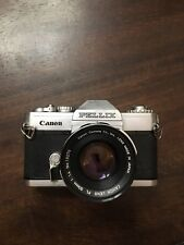 Canon Pellix 35 MM Camera. Vintage Collectable
