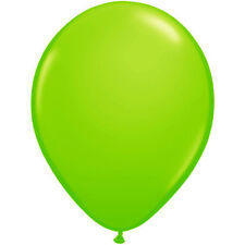 """Pack of 25 - 12"""" Standard Apple Green Latex Balloons for Birthday, Decoration"""