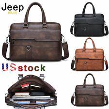 JEEP BULUO Men Briefcase Laptop Bag Shoulder bag Messenger Bag Office Handbag us