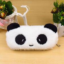 Soft Plush Zipper Bag Pen Pocket Cartoon Panda Pencil Case Cosmetic Pouch