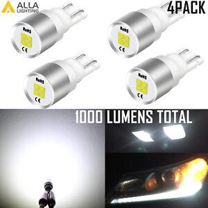 4PCS R5W 168 4-LED WHITE Interior Map Light Bulb|Parking|Side Marker|Tail Light