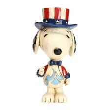 Patriotic Snoopy Jim Shore Mini-Figurine Enesco 6005951