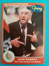 1986 Star Franz JACK RAMSAY card # 1
