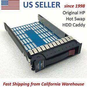 "HP Server 335537 3.5"" Hard Drive Hot-Swap Caddy Tray Screws SAS/SATA MDL 536648"