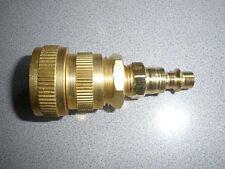 CABIN/SPRINKLER/HOUSE COMPRESSOR BLOW OUT/WINTERIZER PLUG:SWIVEL HEAD BRASS CONS