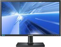 "Samsung SyncMaster S24E650XW 24"" Zoll TFT Monitor DVI VGA DP mit Standfuss"